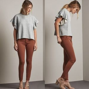 NWT AG The Legging Ankle Super Stretch Sateen